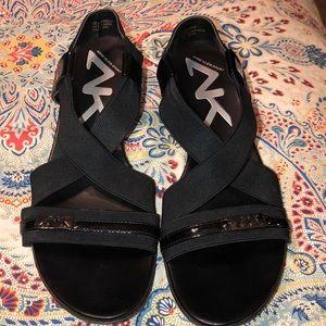 Anne Klein Sport Sling Back Sandals